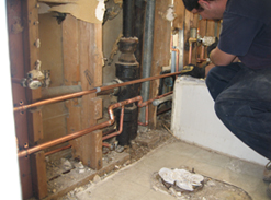 Plumbing - Residential - Piping Repair / Repipe